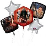 Star Wars The Force Awakens Helium Balloon Bouquet